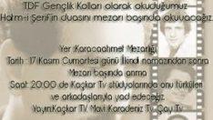 Erkan OCAKLI'yı Anma Programı