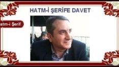 HATM-İ ŞERİFE DAVET