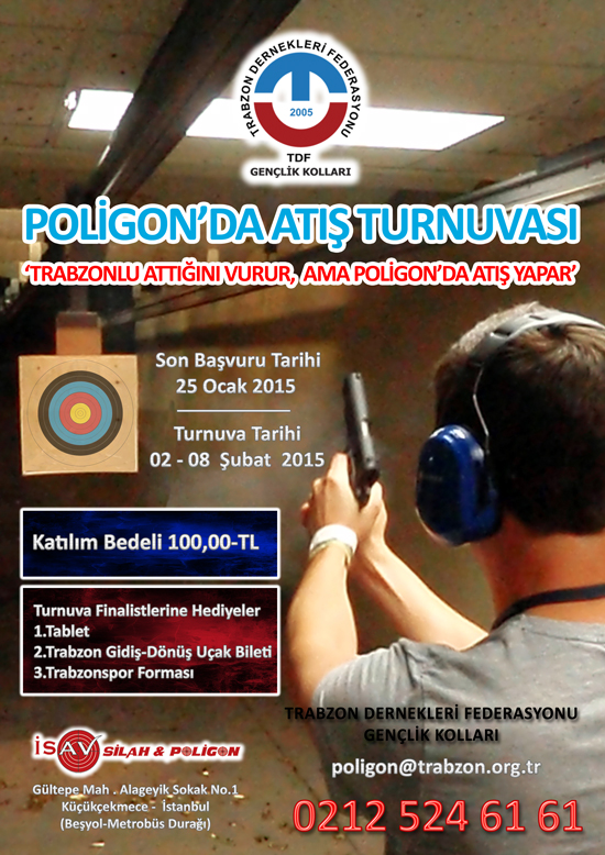 POLİGON'DA ATIŞ TURNUVASI