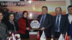 Trabzon'un Ayşe'sinden TDF'ye Ziyaret