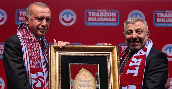 Trabzonlular Cumhurbaşkanımızla Buluştu